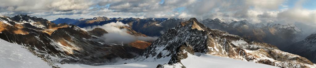 Sölden Gletscherblick