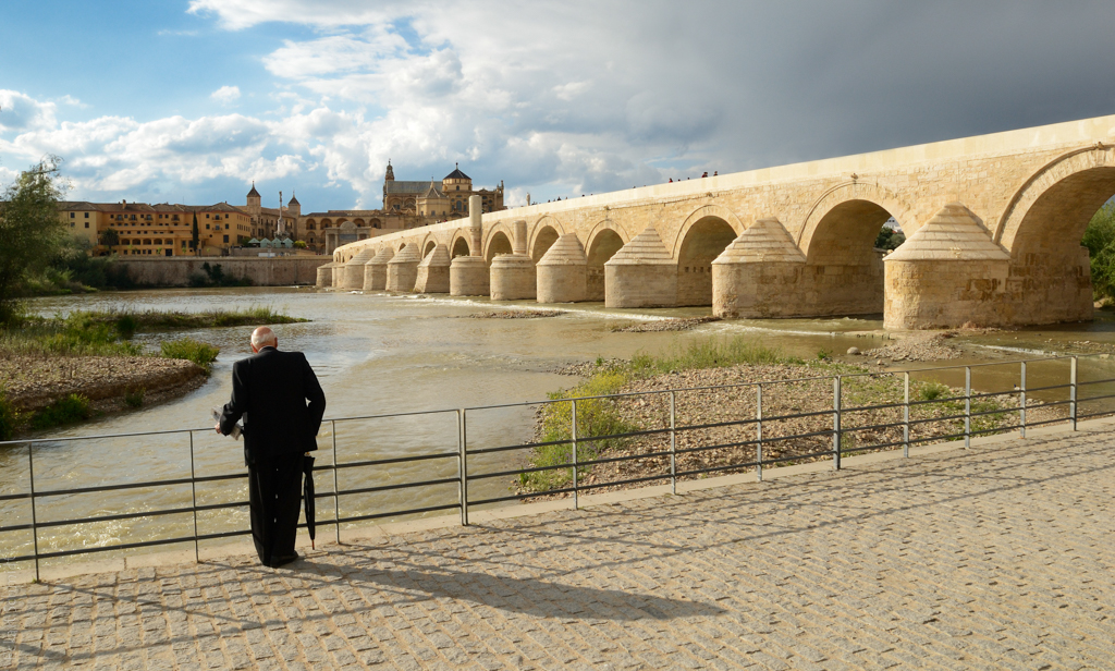 Spanien - Cordoba Picasso am Fluss