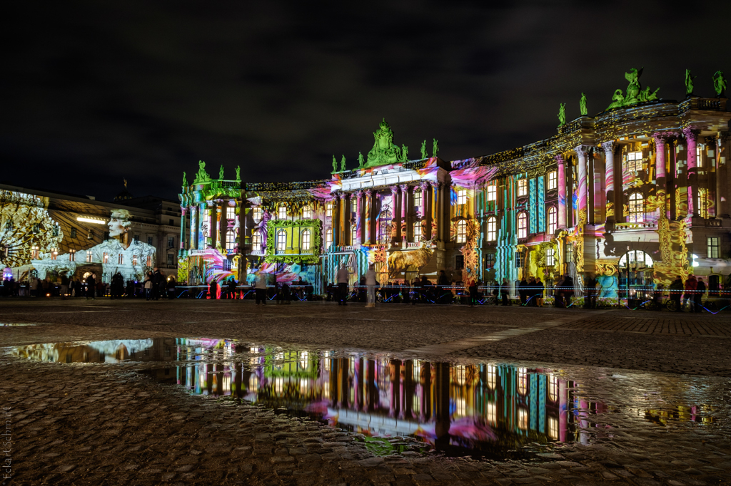 Berlin Bebelplatz - Festival of Lights 2017