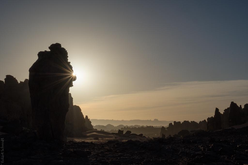 Algerien - Morgen im Tassili