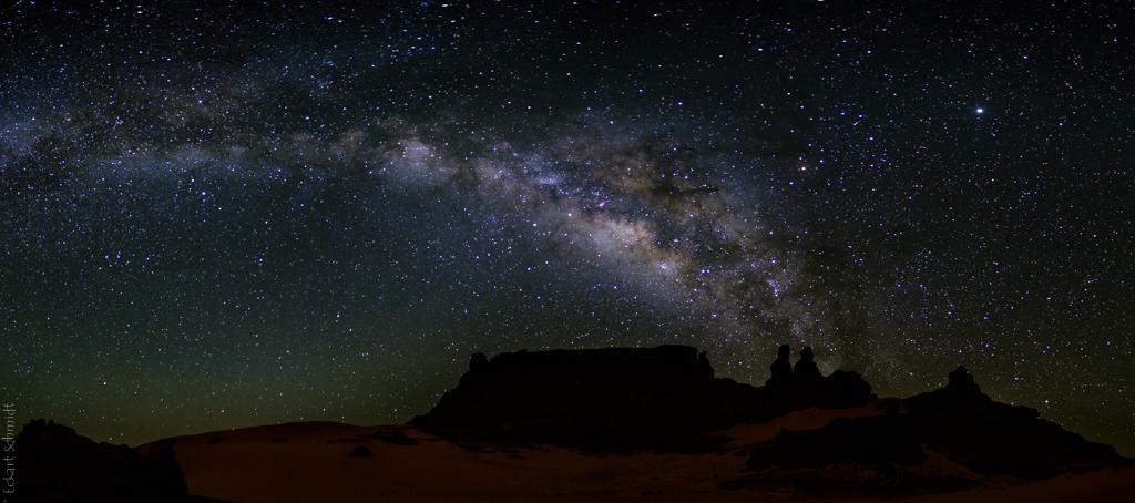 Algerien - Amanokal unter Sternen