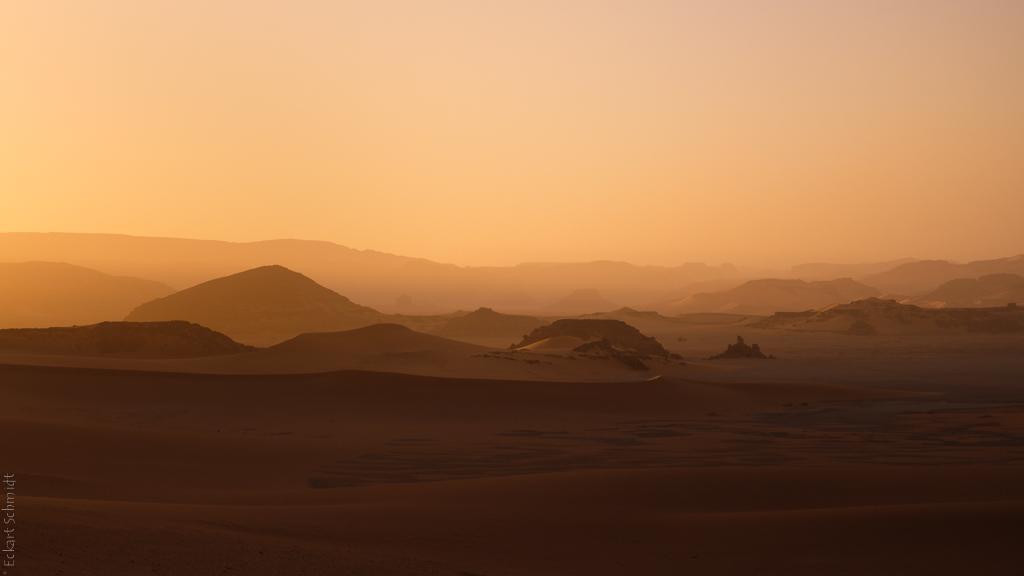 Algerien - InTehak am Abend