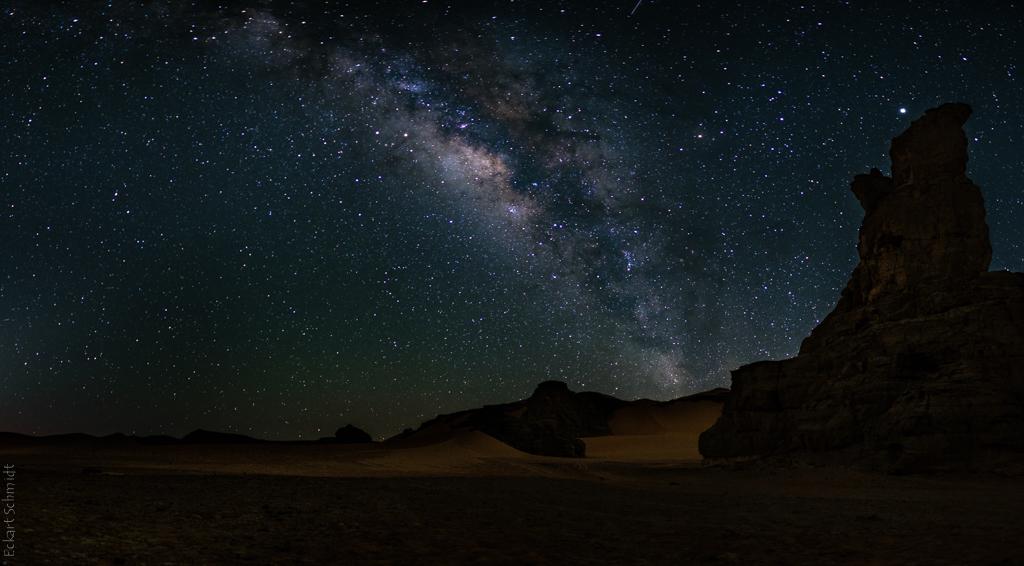 Algerien - Moul n Aga unter Sternen