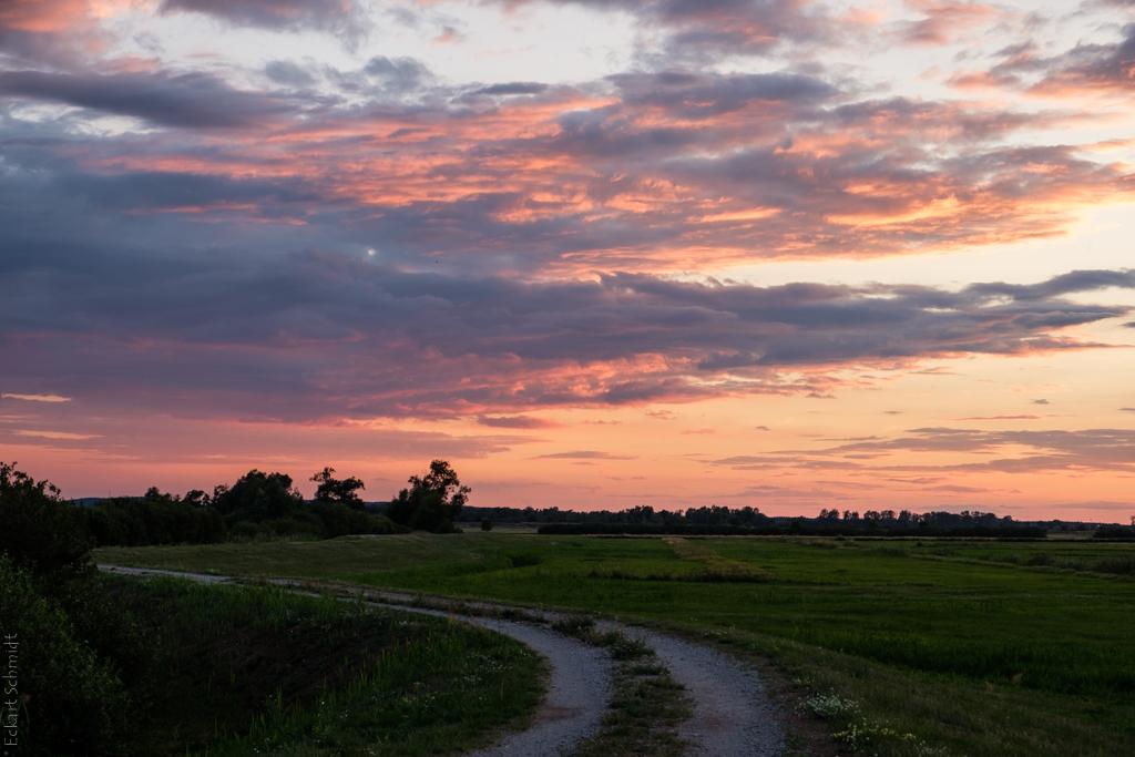 Abend im Havelland